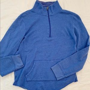 lightweight blue half zip!!!
